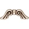 Bead Angel Wings Antique Silver